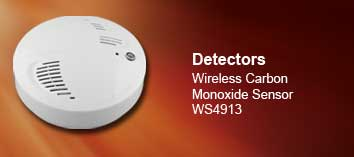 Cliick to learn more about the WS4913 Wireless Carbon Monoxide Sensor