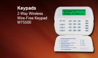 Click to learn more about the WT5500 2-way Wireless Keypad